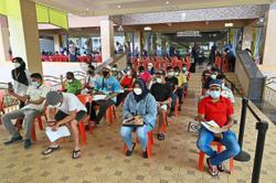 Five building sites hit by virus