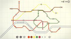 'Mini Metro' challenges players to build efficient subway system