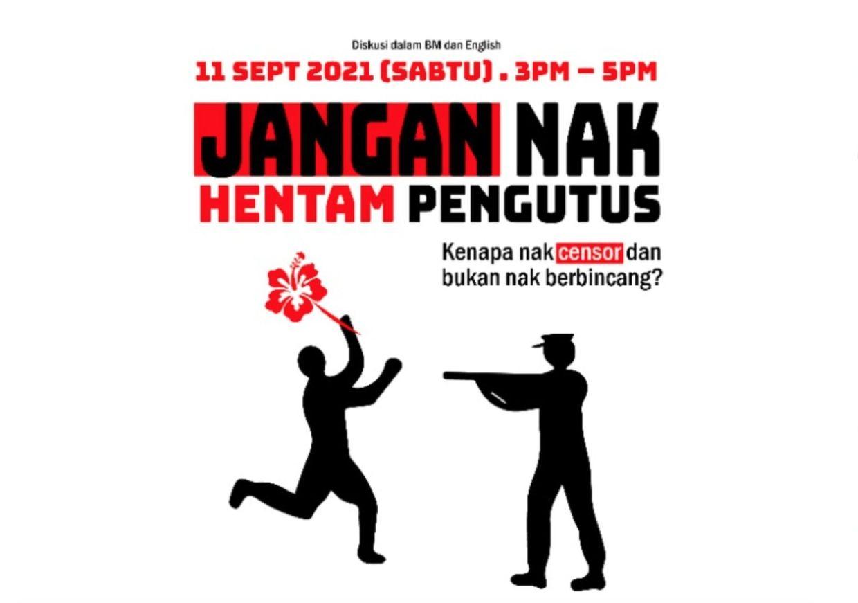 Join Amin Landak, Anna Har, Faishal Tehrani and Jo Kukathas for a roundtable discussion in 'Jangan Nak Hentam Pengutus'. Photo: Handout