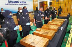 Cops seize drugs worth RM34.1mil, 11 suspects arrested