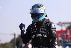 Motor racing-Bottas wins sprint but Verstappen on pole at Monza