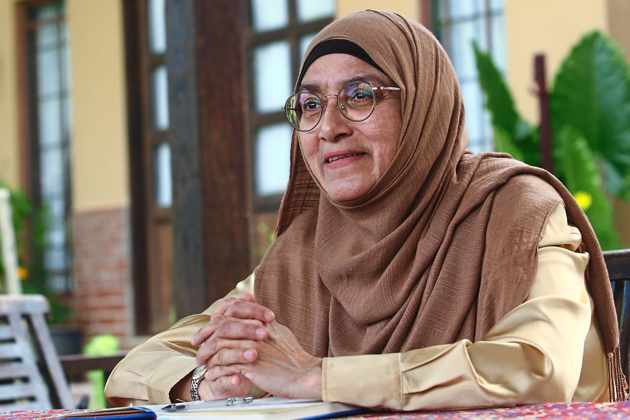 Prof Shakila: It was a lesson learned for Malaysians at the time... you have to do it quietly. It's the China Wall principle, every move must be kept a secret. — FAIHAN GHANI/The Star