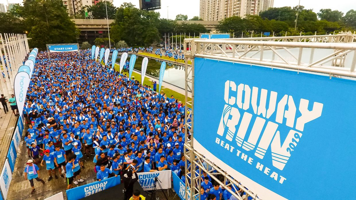 Since the start of the Coway Run in 2017, the annual event is committed to doing good, such as benefitting the company's CSR initiative – Happy Water Project.
