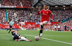 Soccer-'I was super nervous', says Ronaldo after memorable second debut at Man Utd