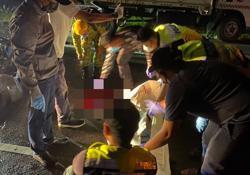 Cop dies in accident along KK-Papar road