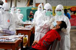 Indonesia reports 3,779 new Covid19 cases, 188 new deaths - govt easing measures de to lower infections