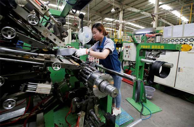 China economy manufacturing