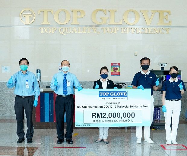 Top Glove believes in doing well by doing good, and places good deeds at the heart of its business.