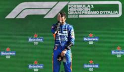 Motor racing-Ricciardo wins at Monza in McLaren one-two finish
