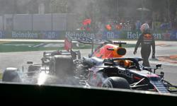 Motor racing-Verstappen handed three-place grid drop for Russian GP
