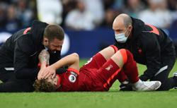 Soccer-Liverpool's Klopp says Elliott's ankle 'not in the right place anymore'