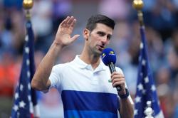 Tennis-Djokovic feels 'relief' after bid for calendar Grand Slam falls short