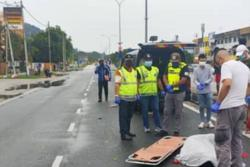 Pedestrian dies in mishap while crossing the road
