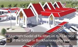 Fifth Lao-Thai Friendship Bridge over 14% complete
