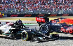 Motor racing-FIA will investigate latest Hamilton-Verstappen collision