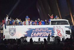 JDT switch focus to Malaysia Cup after colourful celebration