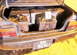 Brunei police foil attempt to smuggle contraband cigs