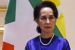 Myanmar's Suu Kyi returns to court but still 'somewhat dizzy'