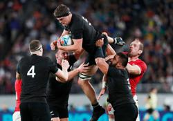 Rugby-Argentina will bring 'edge' into re-match, says All Blacks lock Barrett
