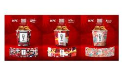 KFC to auction limited-edition buckets featuring messages of hope