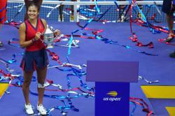 Tennis - Raducanu hits Met Gala red carpet in New York victory lap