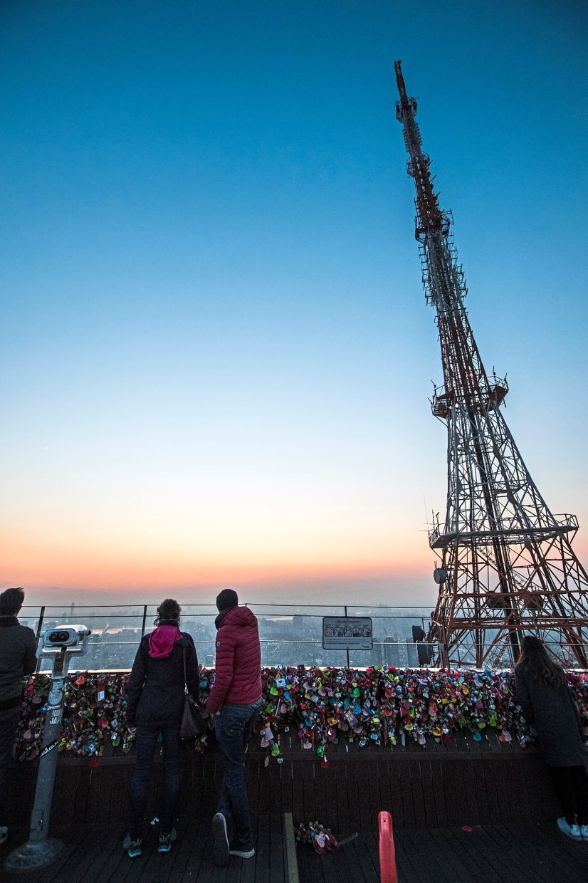 You can see a beautiful panoramic view of the city from Namsan Seoul Tower. — Korea Tourism Organisation