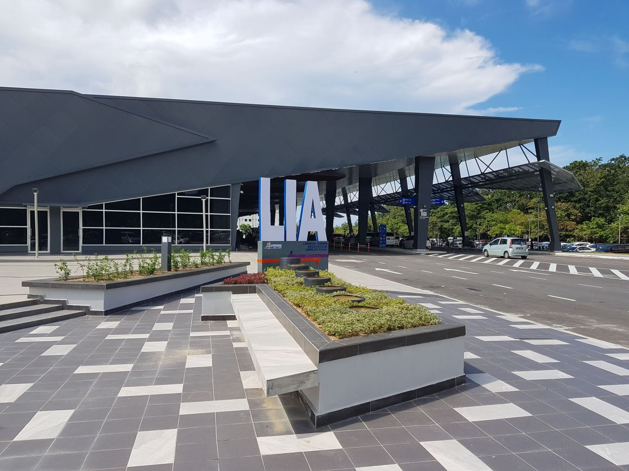 The Langkawi International Airport is set to be bustling again when tourists arrive under the tourism bubble pilot programme. - Filepic