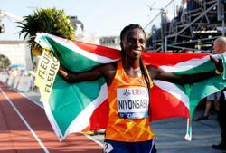 Athletics-Niyonsaba smashes women's 2,000m world record