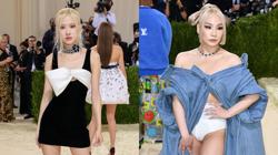 Blackpink's Rose and former 2NE1 member CL make history with Met Gala debut