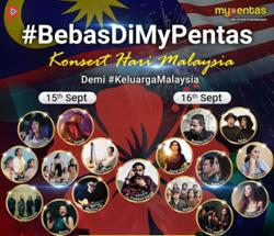 MyPentas rolls out Malaysia Day celebrations with virtual music concert