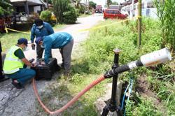 Environment Dept declares village safe following chemical spill