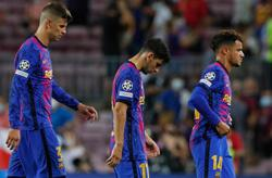 Soccer-Forlorn Barcelona adjust to new normal of European inferiority