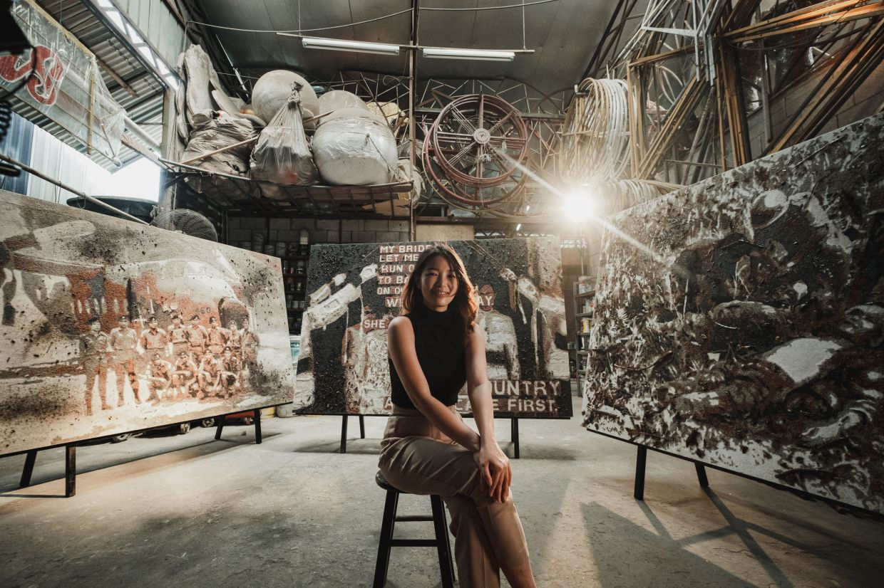 'As a Sabahan, I hope these artworks and this documentary will also present East Malaysians as an equal to the West, and that we will not be seen as secondary,' says Red Hong Yi. Photo: Aaron Wong