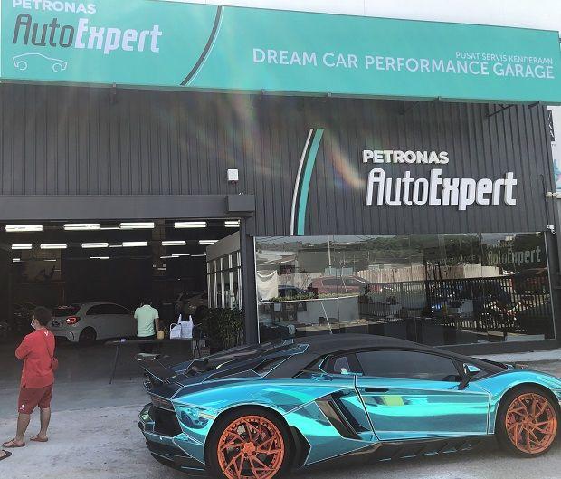 The PETRONAS AutoExpert Dream Car Performance Garage
