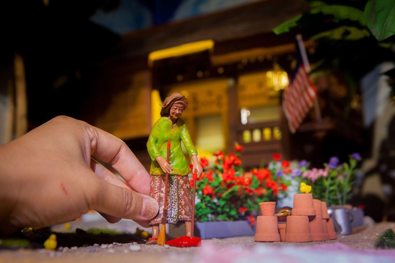 A diorama seen in the MinNature Malaysia gallery tour. Photo: Wan Cheng Huat