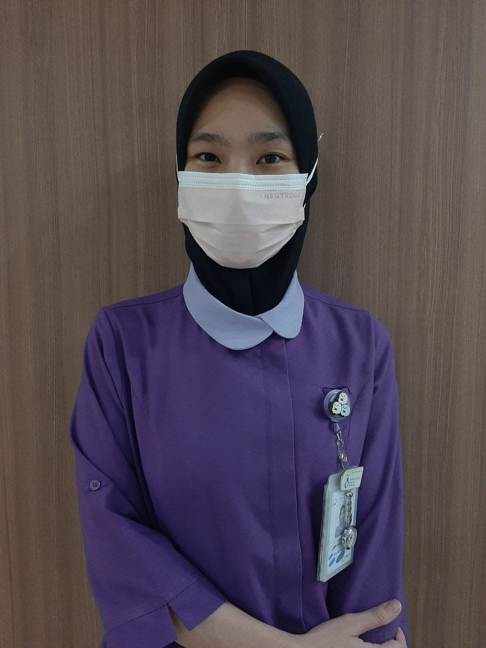 Fathin will be celebrating Malaysia Day with her husband's family and her colleagues at the hospital.
