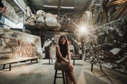 Red Hong Yi's soil art series honours army veterans, servicemen on Malaysia Day