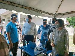Vaccination for 400 Setapak residents via mobile initiative