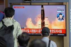 South, North Koreas test missiles