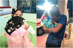 Cyclists help woman deliver baby in e-hailing vehicle