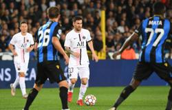 Soccer-Messi's Paris St Germain disappoint in Brugge draw