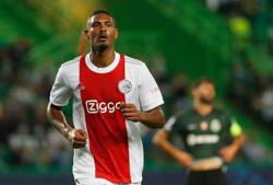 Soccer-Haller scores four as Ajax go on the rampage in Lisbon