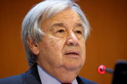 'A fantasy' to think U.N. can fix Afghanistan, Guterres says