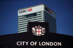 HSBC CFO sees upside from crackdown on big tech