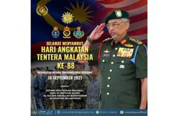 King conveys 88th anniversary wishes to the Armed Forces