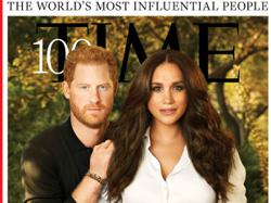Whats up with Meghan and Harry's strange, plasticky Time cover photo?