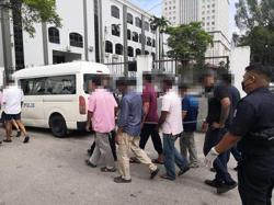Eight suspects remanded three days over pollution at Kampung Baru Sri Aman