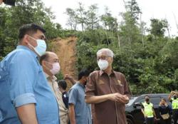 PM visits landslide victims in Penampang during official Sabah trip to mark Malaysia Day