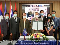 Laos: Mekong River Commission and Israel experts team up to tackle river's plight