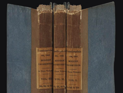 This first edition of Mary Shelley's book 'Frankenstein' sold for RM4.8mil